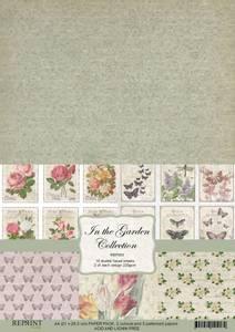 Bilde av Reprint -  A4 - RBP003 - In the Garden Collection Pack A4