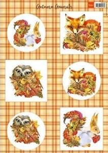 Bilde av Marianne Design - Klippeark VK9546 - Autumn Animals - Fox