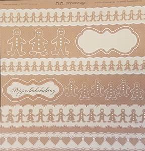 Bilde av Papirdesign PD090325 - Pepperkakeklipp