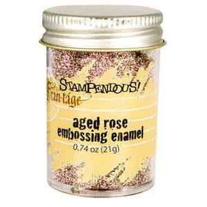 Bilde av Stampendous - Fran-Tage - Embossing enamel - AGED ROSE