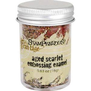Bilde av Stampendous - Fran-Tage - Embossing enamel - Aged Scarlet