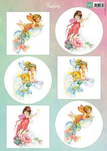 Bilde av Marianne Design - Klippeark VK9560 - Fairies 2