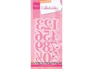 Bilde av Marianne Design - Collectable dies - COL1418 - ELEGANT NUMBERS