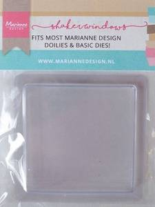 Bilde av Marianne Design - LR0024 - Shaker Windows - Square - 9cm