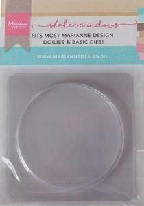 Bilde av Marianne Design - LR0025 - Shaker Windows - Circle - 9cm