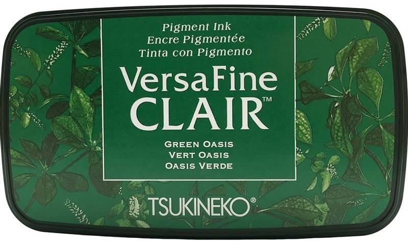 Tsukineko - VersaFine CLAIR - Ink Pad - 501 - Green Oasis