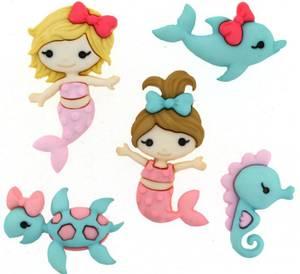 Bilde av Dress it up - Buttons - 9320 - Mermaid Kisses