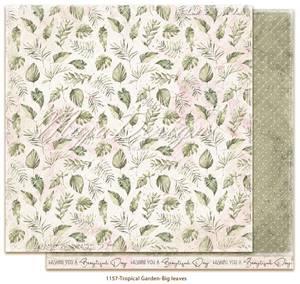 Bilde av Maja Design - 1157 - Tropical Garden - Big leaves