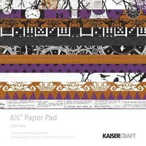 Bilde av Kaisercraft - PP852 - 6,5x6,5 - PAPER PAD - 13th HOUR