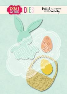 Bilde av Craft & You - Dies - CW113 - Easter Bunny