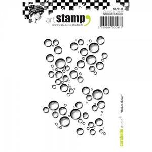 Bilde av Carabelle Studio - Cling stamp - Bubbles Of Water