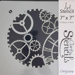 Bilde av Claritystamp - Art Stencil - 7