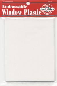 Bilde av JudiKins - Embossable Window Plastic Sheets - 20pk