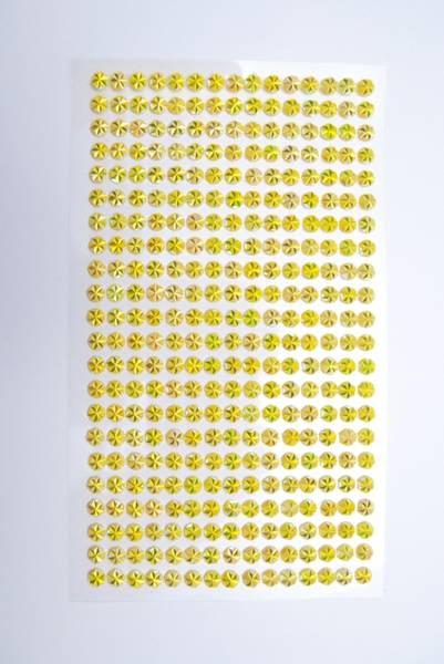 Kort & Godt - Stickers - ST-175 - Diamant - 5mm - Gul