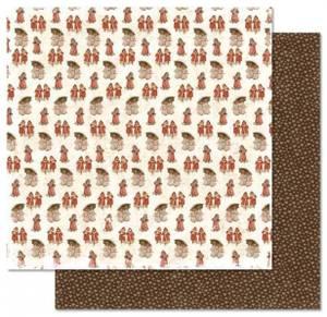 Bilde av Papirdesign PD13835 - Julehilsen - Vinterbarn