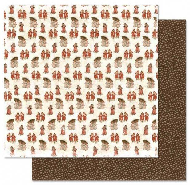 Papirdesign PD13835 - Julehilsen - Vinterbarn
