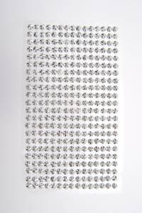 Bilde av Kort & Godt - Stickers - ST-173 - Diamant - 5mm - Sølv