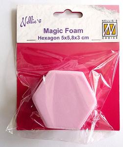 Bilde av Nellie Snellen - Magic Foam - Hexagon - 5 x 5 cm
