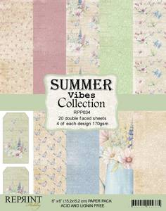Bilde av Reprint - 6x6 - RPP034 - SummerVibes Collection pack