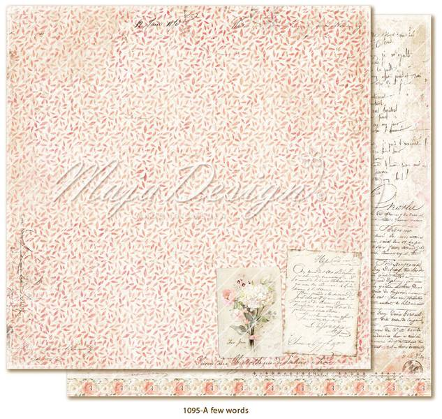 Maja Design - 1095 - Miles Apart - A few words
