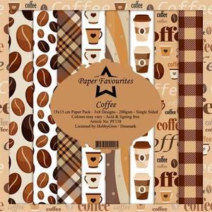 Bilde av Paper Favourites - 6x6 Paper Pad - PF138 - Coffee
