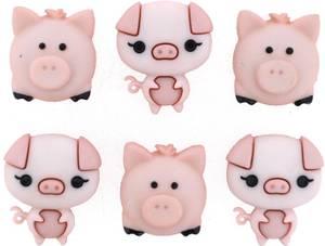 Bilde av Dress it up - Buttons - 10415 - Pig Pen