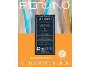 Bilde av Fabriano - Watercolour - 200g HP - 229x305mm - 20 ark