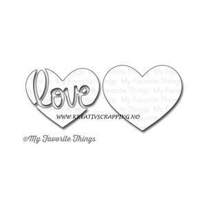 Bilde av My Favorite Things - MFT414 - Die-Namics - HEART FULL OF LOVE