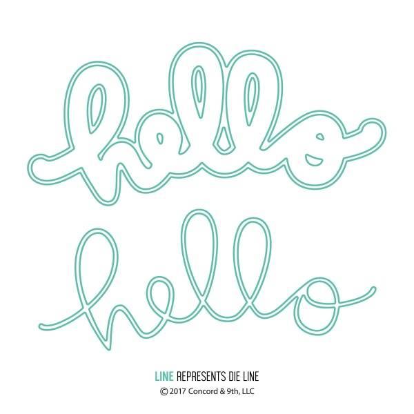 Concord & 9th - die - 10172 - Say Hello