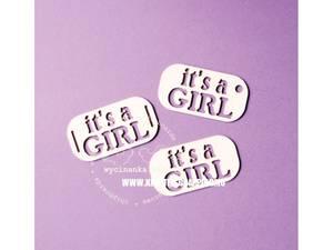 Bilde av Wycinanka - Chipboard - It's a Girl