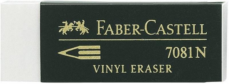 Faber Castell - Eraser - 7081N Plastic - Viskelær
