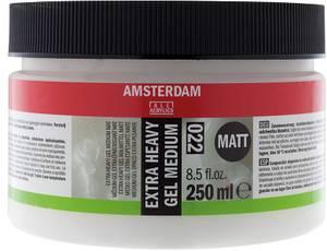 Bilde av Amsterdam - 022 - Extra Heavy Gel Medium - Matt 250ml