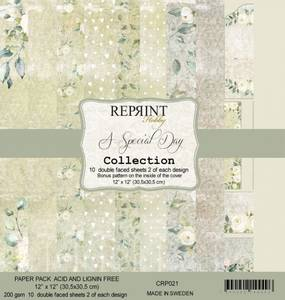 Bilde av Reprint - 12x12 - CRP021 - A Special Day Collection Pack