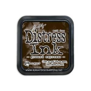 Bilde av Distress Dye Ink pad - GROUND ESPRESSO