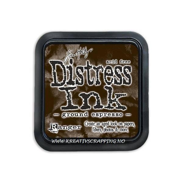 Distress Dye Ink pad - GROUND ESPRESSO