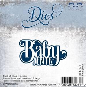 Bilde av Papirdesign dies PD17234 - Baby Jente