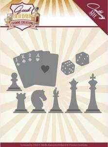 Bilde av FIT - Dies - YCD10223 - Yvonne Creations - Chess Game