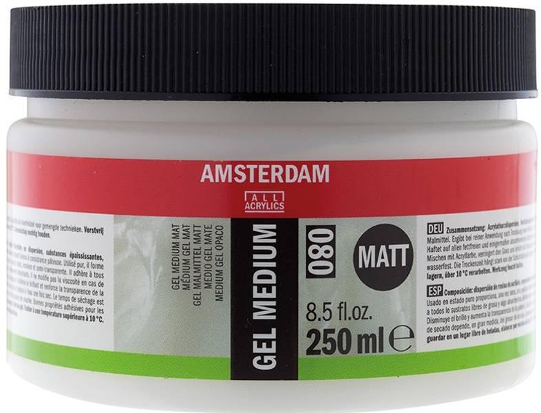 Amsterdam - 080 - Gel Medium - Matt 250ml