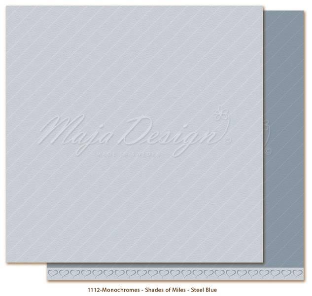 Maja - 1112 - Monochromes - Shades of Miles - Steel Blue