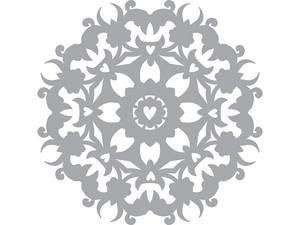 Bilde av Pronty Crafts - Stencil - 150x150mm - HEARTS IN CIRCLE