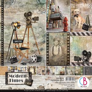 Bilde av Ciao Bella - 036 - 12x12 Paper Pad - Modern Times - 12pk