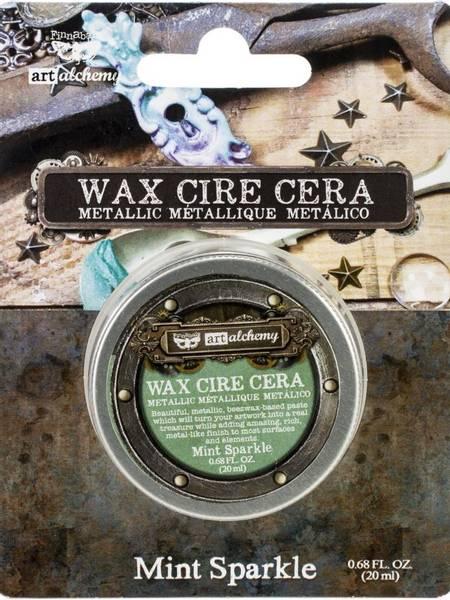 Finnabair - 966751 - Art Alchemy Metallic Wax - Mint Sparkle