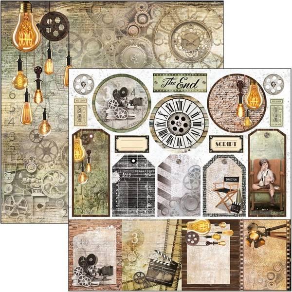 Ciao Bella - 12x12 - CBSS116 - Modern Times - Tags