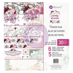 Bilde av Prima - 642167 - 12x12 Paper Pad - Pretty Mosaic