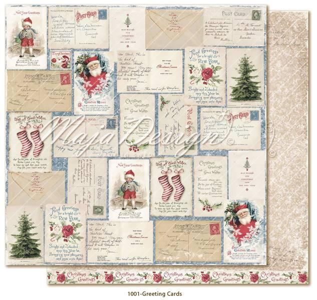 Maja Design - 1001 - Christmas Season - Greeting Cards