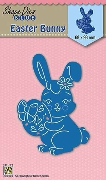Nellie Snellen - SDB026 - Shape Dies Blue - Bunny