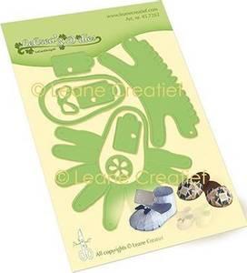 Bilde av Leane Creatief - 45.7262 - Lea'bilities Die - Baby Shoe