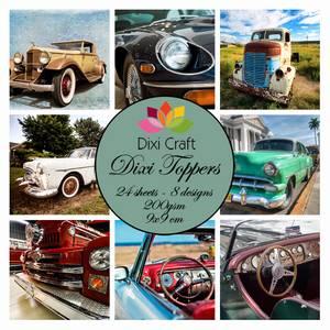 Bilde av  Dixi Craft - Dixi toppers - ET0235 - Cars