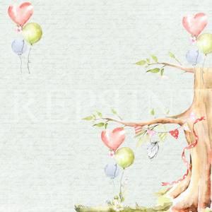 Bilde av Reprint - 12x12 - RP0362 - Party - Birthday tree