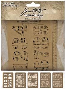 Bilde av Tim Holtz - Idea-Ology - TH94135 - Stencil Cards
